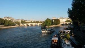Vacances d'eté à Paris